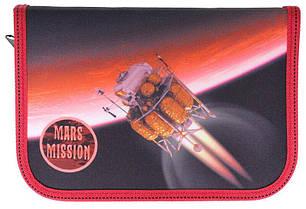 Пенал 1-яр з 1 отв.,пустой, «Mars»,210/70D PL, CLASS, арт. 99107, фото 2