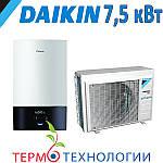 Тепловой насос воздух-вода Daikin Altherma 3 split 7,5 кВт