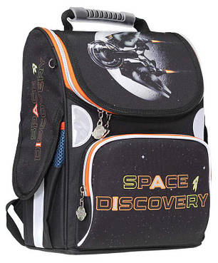 Ранец «Space Discovery»,2 отд.,34*26*13см,300D PL, RAINBOW, арт. 9-511, фото 2