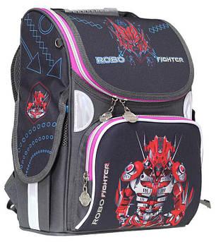 Ранец «Robot»,2 отд.,34*26*13см,300D PL, RAINBOW, арт. 9-509, фото 2