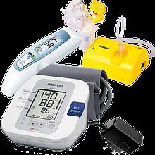 Домашня медтехніка (тонометри, термометри, небулайзери)