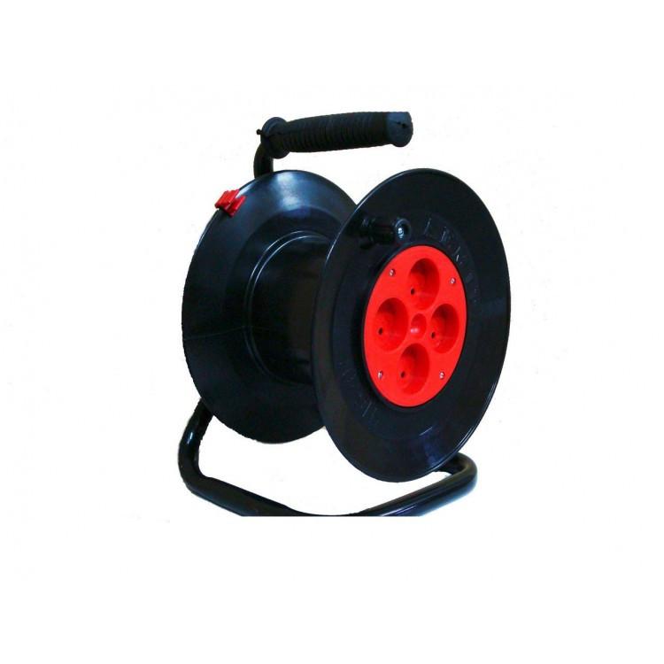 Катушка для электрического провода (пустая) Лемира У16-01 черная
