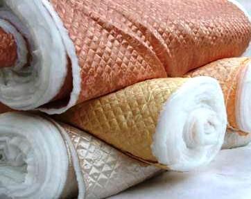 Термостежка Атлас+Синтепон+Подкладка (СЭНДВИЧ) стеганые ткани