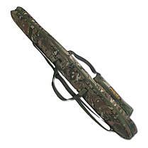 Чехол для ружья без оптики LeRoy Protect Multicam (двойная защита) 1,3 м, фото 3