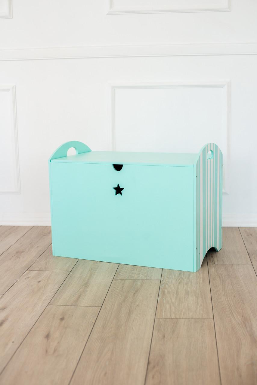 Ящик для игрушек Зеленый SKU-3