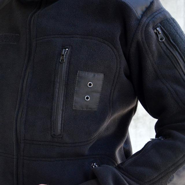 куртка полиции черная