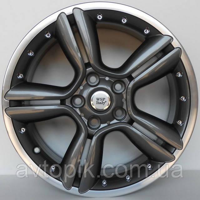 Литые диски WSP Italy Mini (W1656) Bikini R18 W7.5 PCD5x120 ET52 DIA72.6 (anthracite polished)