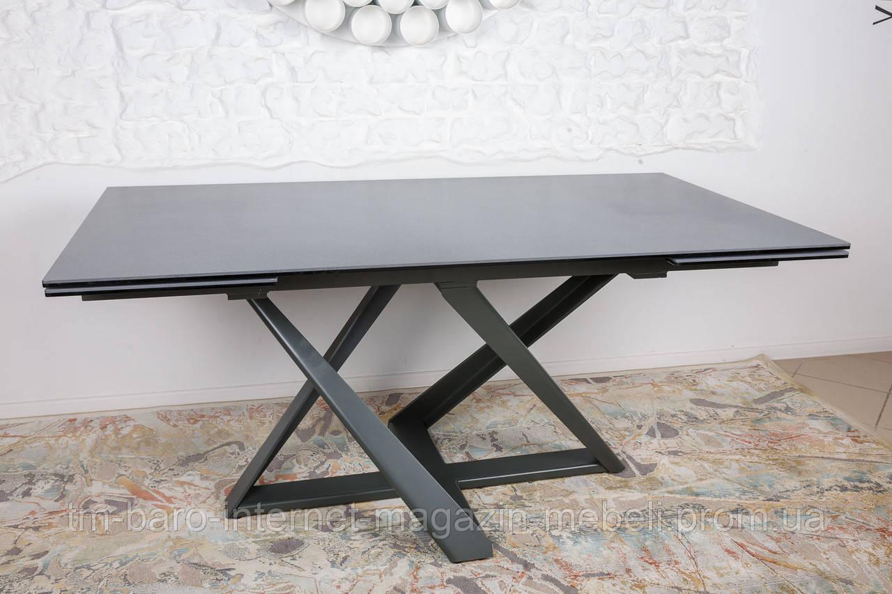 Стол Fleetwood New (Флитвуд Нью) керамика, мокрый асфальт (Бесплатная доставка), Nicolas