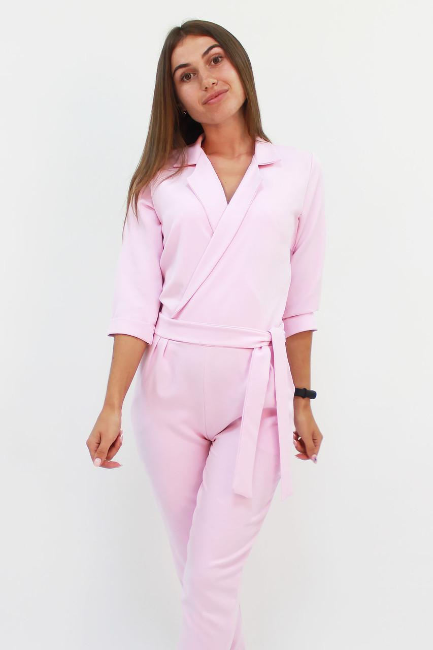 S, M, L / Стильний жіночий комбінезон Noris, рожевий