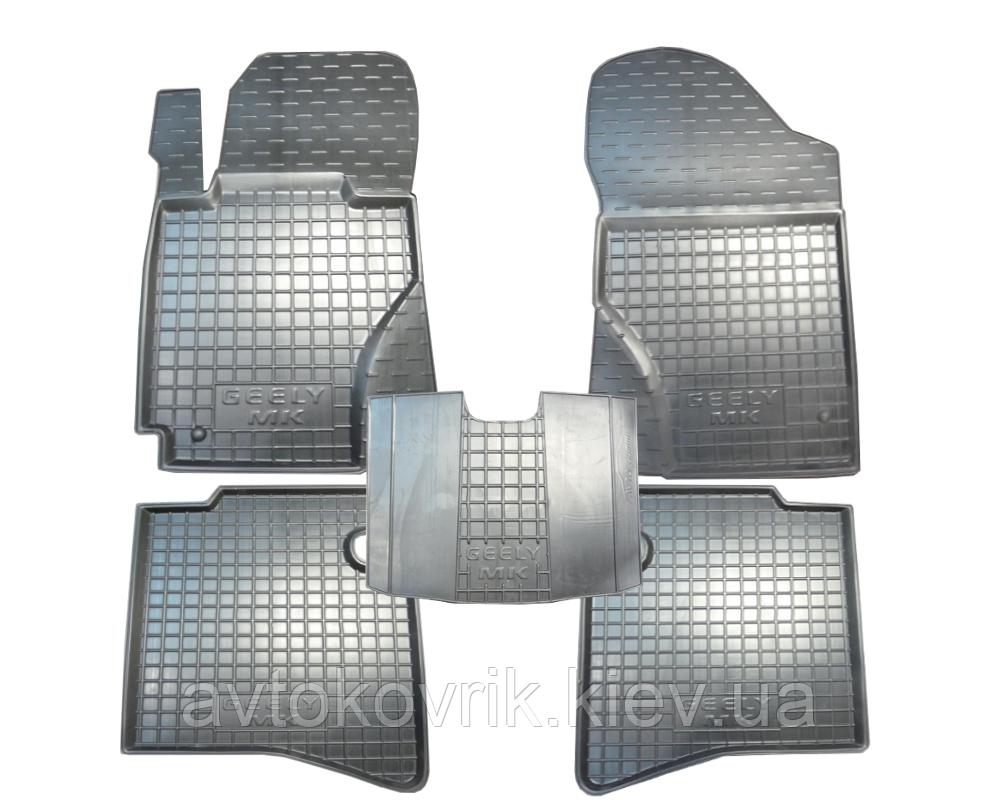 Полиуретановые коврики в салон Geely MK 2006-2014 (AVTO-GUMM)