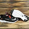 Кроссовки женские в стиле Nike Huarache Off-White черные, фото 4