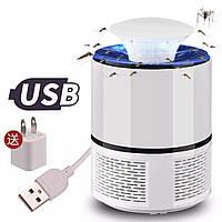 Уничтожители насекомых | Отпугиватели насекомых | Электрическая USB ловушка от комаров и насекомых