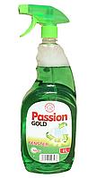 Средство для мытья зеленое яблоко Passion Gold Fenster (зеленый) 1 л.