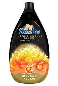 Концентрований ополіскувач тканин преміум класа Coccolino Deluxe Heavenly Nektar 870 ml.