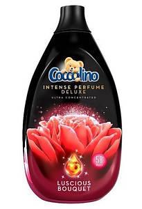 Концентрований ополіскувач тканин преміум класа Coccolino Deluxe Luscious Bouquet 870 ml.