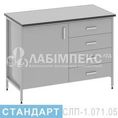 Стол лабораторный пристенный СЛП-1.071.05