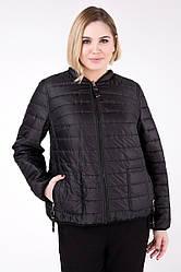 Двостороння куртка жіноча батальна на силіконі Premium демісезонна плащівка