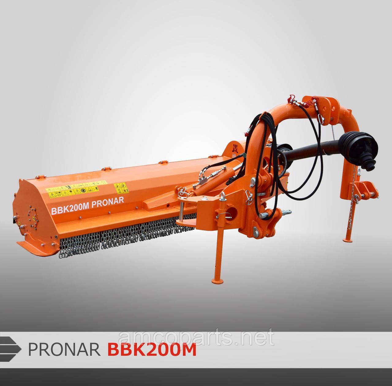 Мульчувач задньо-боковий PRONAR BBK160M