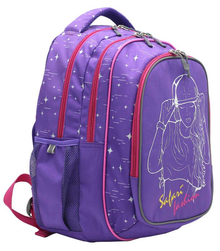 Рюкзак, 3 отделения, 40*29*17см, PL, Safari Basic, 19-117M-2, SAFARI