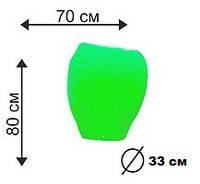 """Небесний ліхтарик """"Купол"""" зелена 80 см"""
