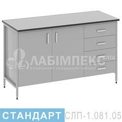 Стол лабораторный пристенный СЛП-1.081.05