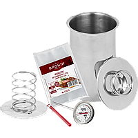Ветчинница BIOWIN 1,5 кг + термометр+набор пакетов, фото 1