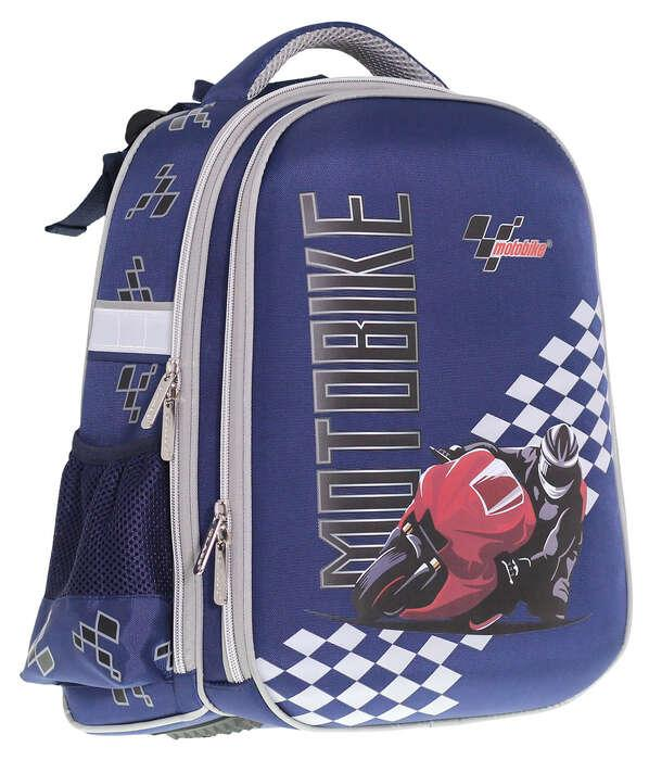 Ранец SchoolCase «Motobike»,2 отделения.,39*28*21см, PL, CLASS, арт. 9909