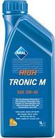 Масло моторное синтетика  aral (арал) hightronic M sae 5w-40 1л