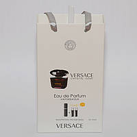 Мини парфюмерия женская Versace Crystal Noir в подарочной упаковке 3х15 ml  DIZ
