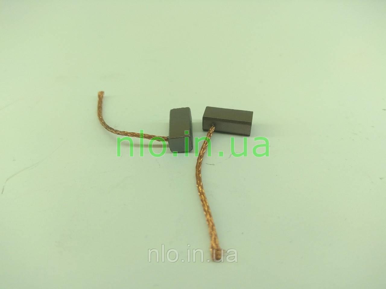 Щетки меднографитовые 5х6х13 провод 38 мм