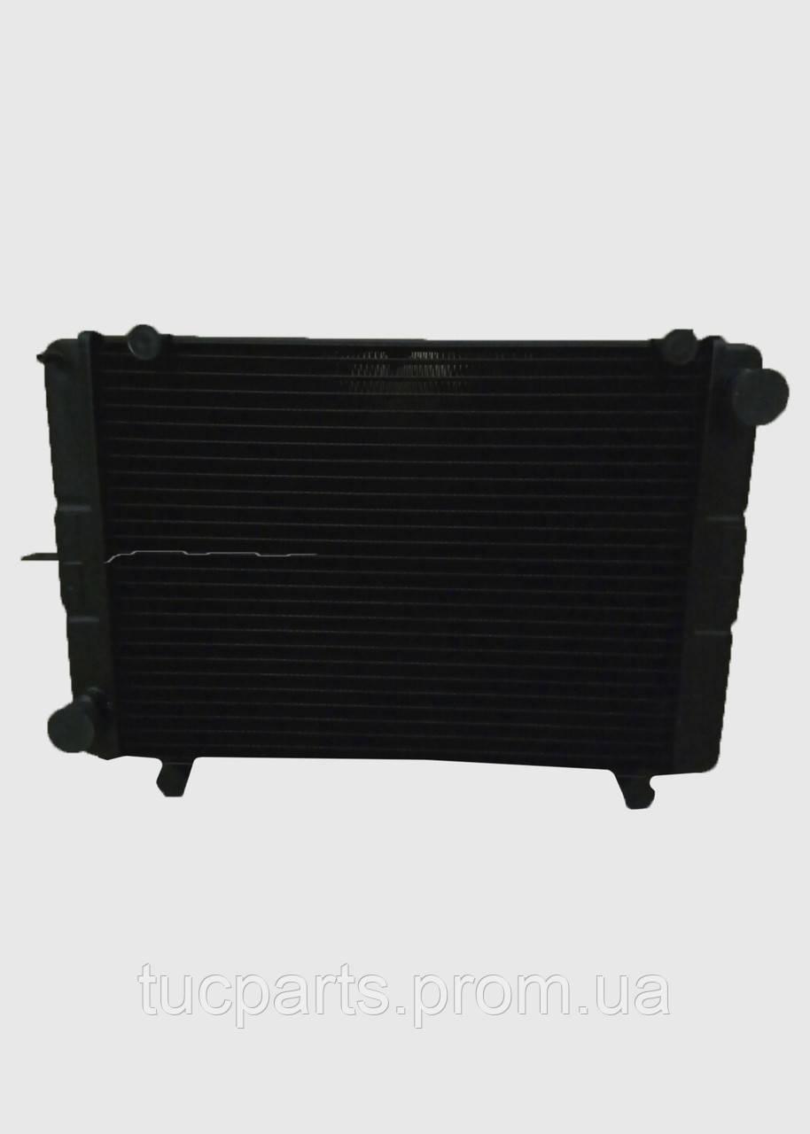 Радиатор охлаждения Газель 3-х рядный с ушами