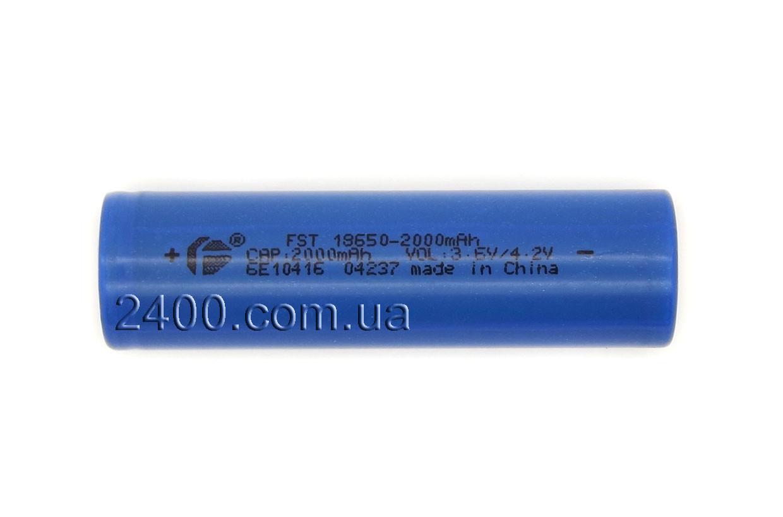Універсальна акумуляторна батарея 2000 мАч 3,7 в 18650 (2000mAh 3.7 v)