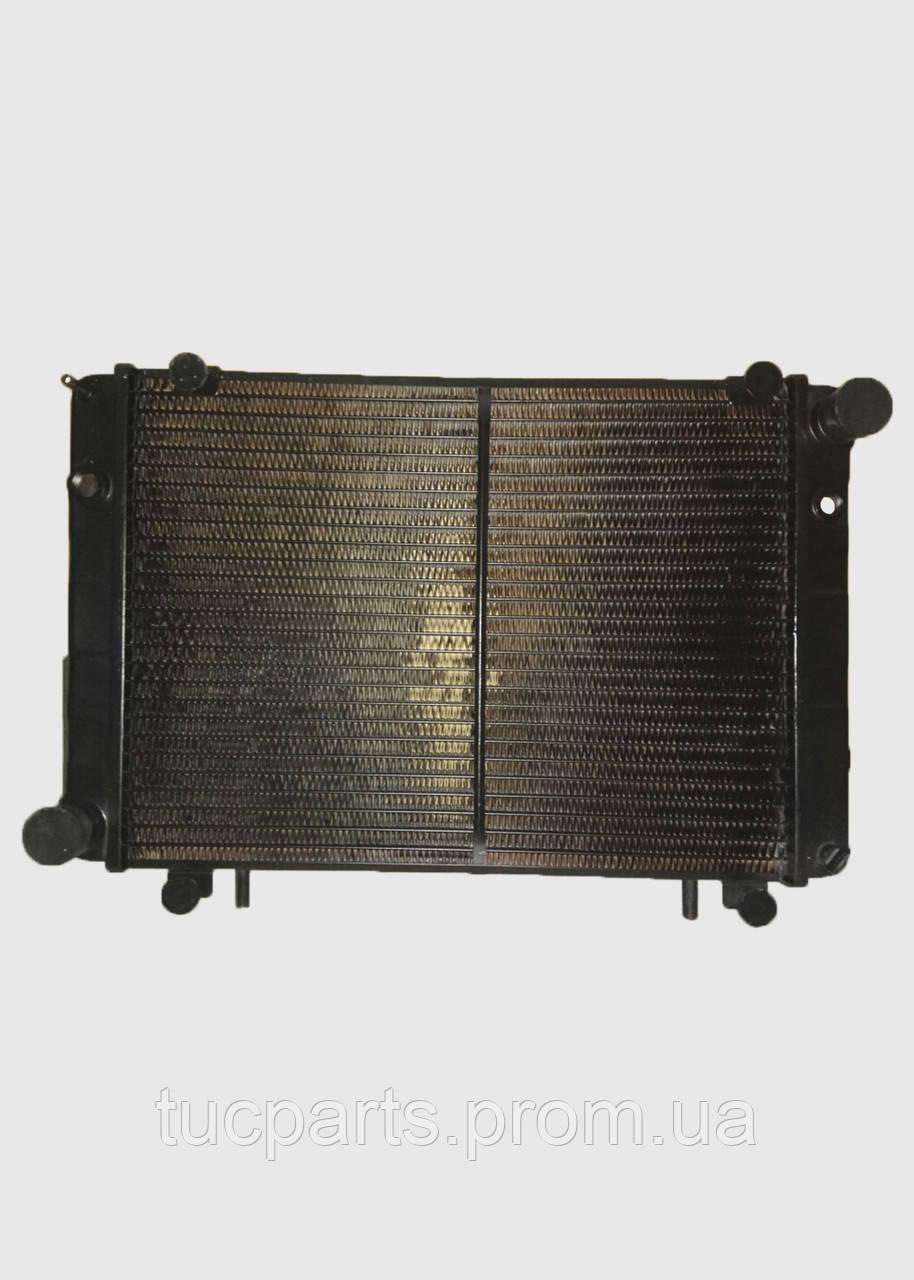 Радиатор водяные Газель 2 (2 ряд) со штырям нового образца медный пр-во Радиатор Иран