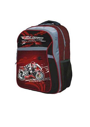 Ранец-рюкзак 2 отд 38*28*18см Jacuard PL RAINBOW 8-524, фото 2