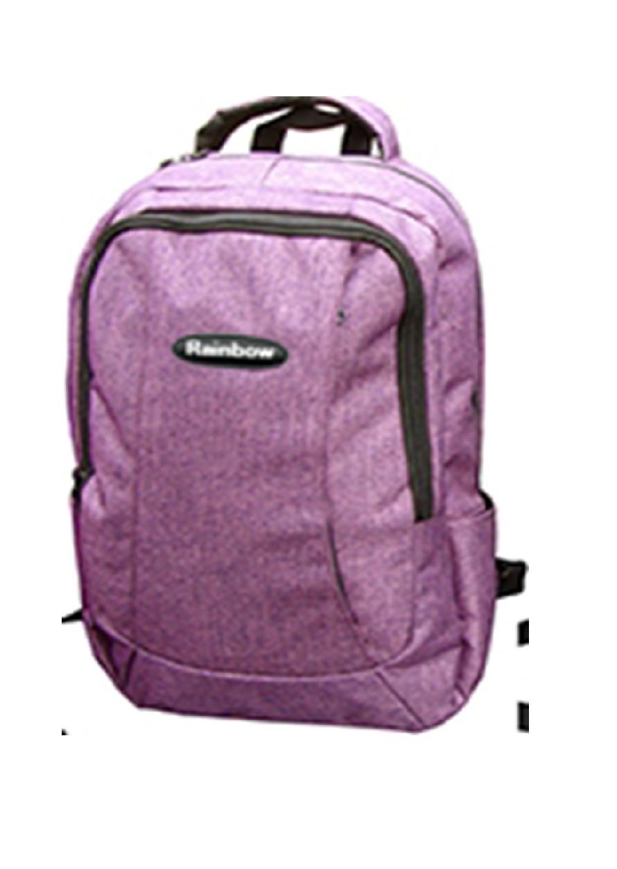 Ранец-рюкзак 2 отд 43*29*20см 300D PL RAINBOW Teens 8-534