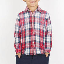 Детская рубашка для мальчика BRUMS Италия 133BFDC007 Красный 122