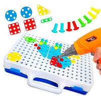 Конструктор мозаика Creative Magic Panel в чемоданчике для детей оригинал + наклейки