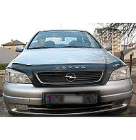 Дефлектор на капот (мухобойки)  Opel Astra G 1998-2012