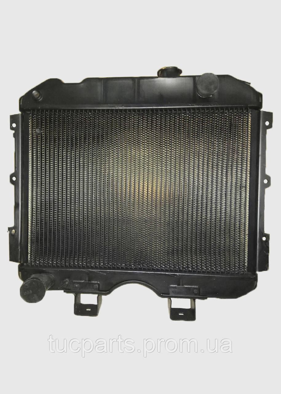 Радиатор водяного охлаждения УАЗ (2 ряд) медный пр-во Радиатор Иран