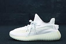 Жіночі кросівки AD Yeezy 350 White, адідас ізі буст. ТОП Репліка ААА класу., фото 3
