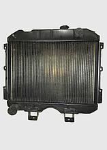 Радіатор вод. охолодження УАЗ 3-х рядний мідний 3741-1301010 (469) пр-во Радіатор Іран