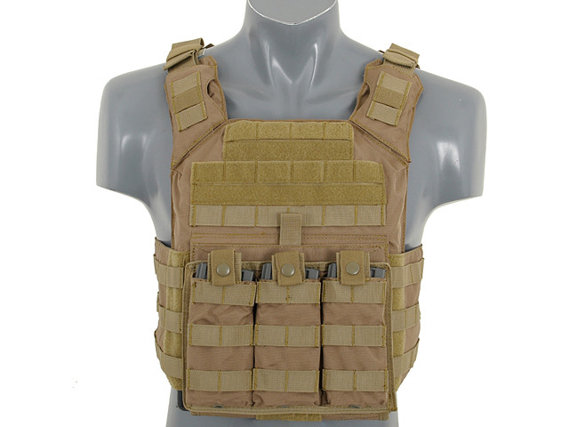 Плитоноска 8Fields First Responder Plate Carrier With Dummy SAPI Plates Coyote