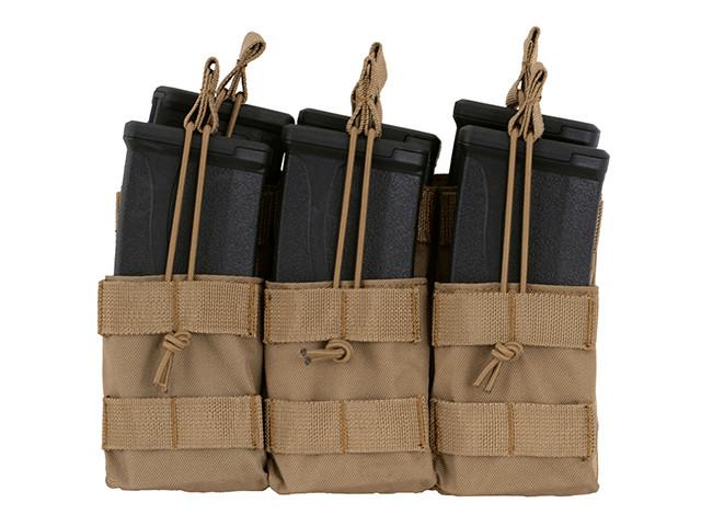 Підсумок 8Fields 6 Mag Triple Stacker M4/M16/AR-15 Coyote