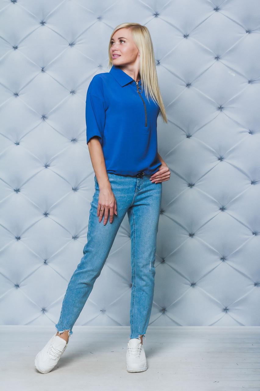 Блуза женская джинс