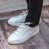 Мужские модные белые кеды
