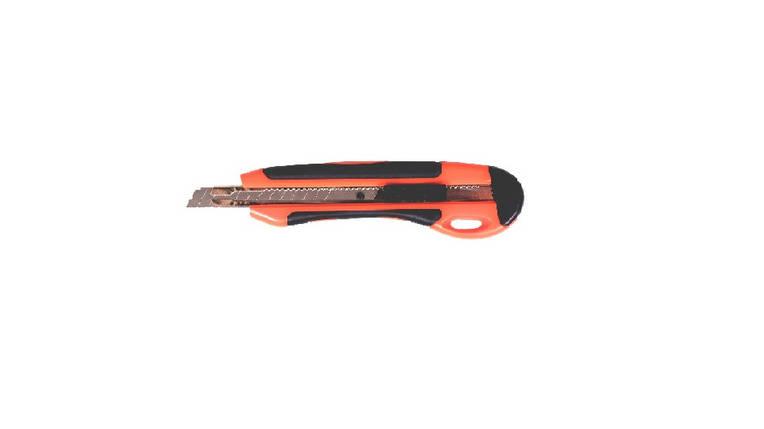 Нож трафарет 9мм автофикс метал напр прорезин 4524 NORMA, фото 2