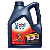 Моторное масло полусинтетика  Mobil (Мобил) Ultra 10W-40 4л