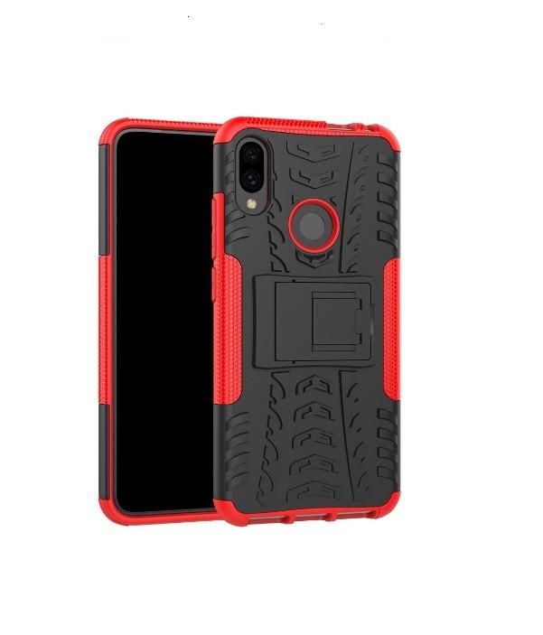 Чехол противоударный Armor для Xiaomi  Redmi Note 7 / note 7 Pro Красный