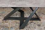 Стол Fleetwood New (Флитвуд Нью) керамика, светло-серый глянец(Бесплатная доставка), Nicolas, фото 3