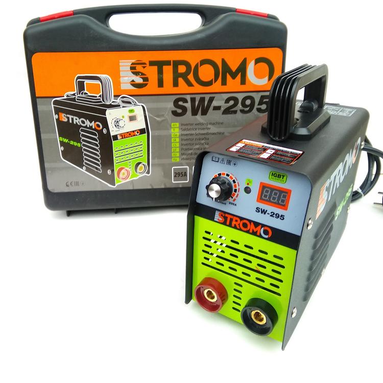 Зварювальний інвертор Stromo SW-295 (дисплей, кейс)